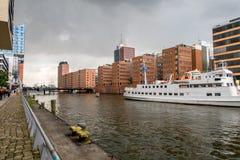 Hafencity Гамбург Стоковое Изображение RF