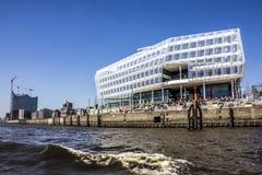 Hafencity, Гамбург Стоковое Изображение RF