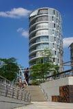 Hafencity Гамбург Стоковое фото RF