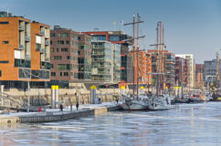 Hafencity Royalty Free Stock Photos