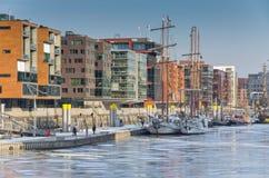 Hafencity Fotos de archivo libres de regalías