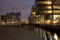 Hafencity Stock Photography