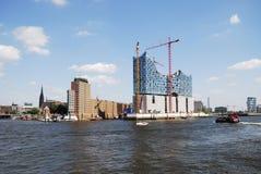 Hafencity Amburgo Fotografie Stock Libere da Diritti