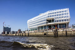 Hafencity, Amburgo Immagine Stock Libera da Diritti