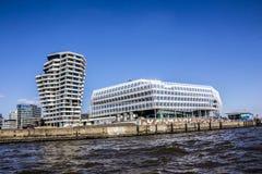 Hafencity, Amburgo Immagini Stock Libere da Diritti