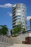Hafencity Amburgo Fotografia Stock Libera da Diritti