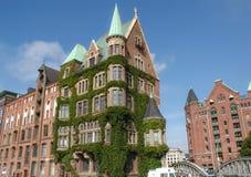 Hafencity em Hamburgo Fotografia de Stock Royalty Free