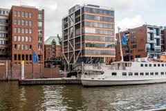 Hafencity Hamburg Royalty-vrije Stock Foto