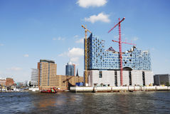 Hafencity Hamburg Lizenzfreies Stockbild