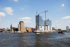 Hafencity Hamburg Royalty Free Stock Photos