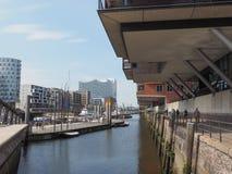 HafenCity in Hamburg Royalty Free Stock Photography