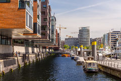 Hafencity Hamburg stockbilder
