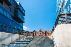 Hafencity in Hamburg Royalty Free Stock Photo
