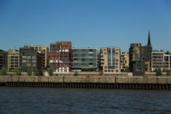 HafenCity Hamburg Royalty Free Stock Images
