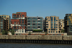 HafenCity Hamburg Royalty Free Stock Photography