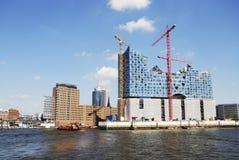 Hafencity Hamburgo Imagem de Stock Royalty Free