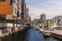 Hafencity Hamburgo imagens de stock