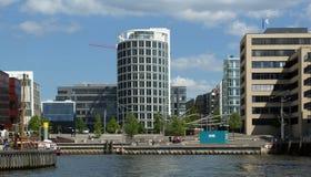 HafenCity Hamburgo - Alemania - Europa Imagenes de archivo
