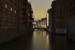 HafenCity inner-city district in Hamburg Stock Photography