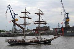 Hafengeburtstag汉堡 库存图片