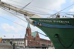 Hafengeburtstag Amburgo Fotografia Stock Libera da Diritti