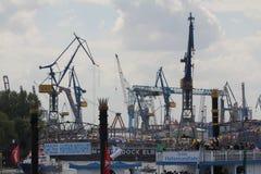 Hafengeburtstag Amburgo Immagine Stock