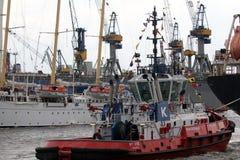 Hafengeburtstag Amburgo Fotografie Stock