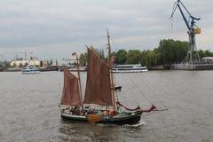 Hafengeburtstag Hambourg Photos stock