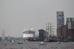 Hafengeburtstag Hambourg Image libre de droits