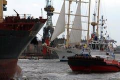 Hafengeburtstag Hambourg Photos libres de droits