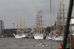Hafengeburtstag Hamburgo Fotografía de archivo