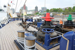 Hafengeburtstag Hamburgo Foto de archivo libre de regalías