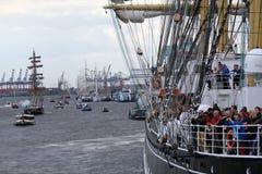 Hafengeburtstag Hamburgo Fotos de archivo