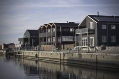 Hafenhäuser Lizenzfreies Stockbild
