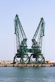 Hafenkräne Stockbilder