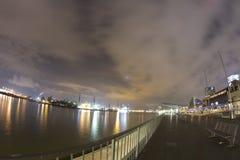 Hafenleuchten lizenzfreie stockbilder