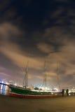 Hafenleuchten stockfotos