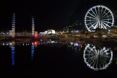 Hafenlichter Stockfotos