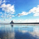 Hafenreflexion Lizenzfreie Stockbilder