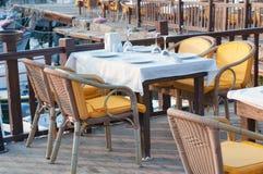 Hafenrestaurant Lizenzfreie Stockfotografie