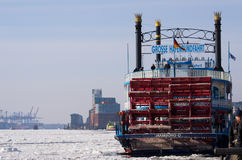 Hafenrundfahrt Stockfotografie