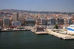 Hafenstadt auf Mittelmeer Neapel, Italien Lizenzfreie Stockfotografie