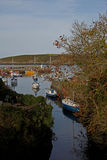 Hafenszene, Cemeas-Bucht, Anglesey Stockfoto
