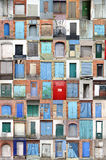 Hafentüren und -gatter Lizenzfreie Stockfotografie