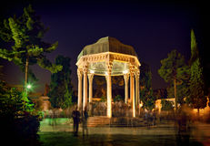 Hafezieh grobowiec Hafez w Shiraz fotografia royalty free