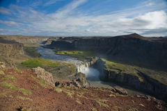 Hafragilsfoss Royalty Free Stock Photography