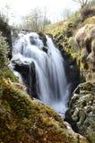 Hafren瀑布 库存图片