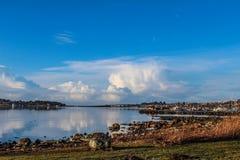Hafrsfjord. Hafrsjord, Stavanger , Norway Stock Photo