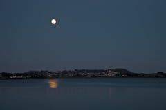 hafrsfjord noc Zdjęcia Royalty Free