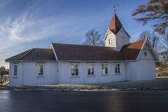 Церковь Hafslund (север) Стоковое Фото